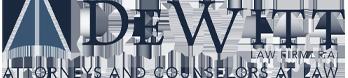 DeWitt Law Firm, P.A. Logo