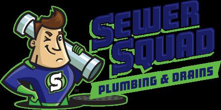 Sewer Squad Plumbing Logo